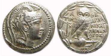 U.S. officials return Ancient Greek coins to their home