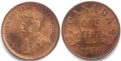 1980 Canada Small Cent BU FULL RED LUSTRE!!!