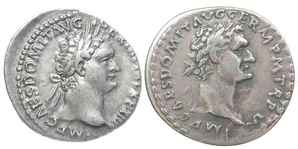 domitian fake and genuine
