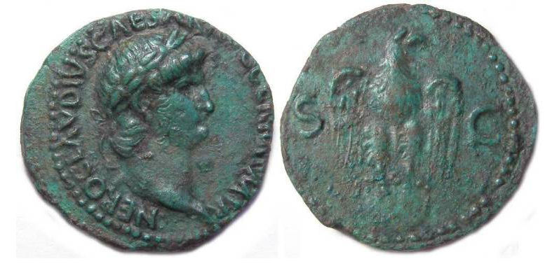 27 BC to AD 69, Ancient Roman coins - Calgary Coin Gallery